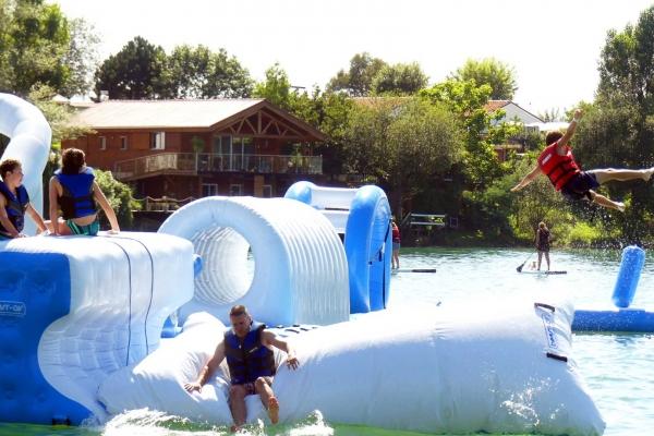 Water Park de Sames Parcours Aquatique