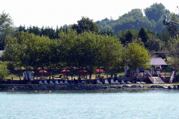 Le téléski du Water Park de Sames